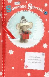 Someone Special Elliot & Buttons Christmas Greeting Card