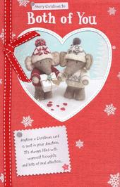 To Both Of You Elliot & Buttons Christmas Greeting Card