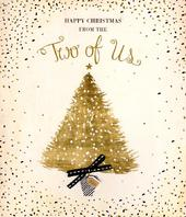 From The Two Of Us Happy Christmas Greeting Card