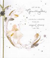 Granddaughter Christmas Greeting Card