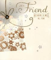 Special Friend Christmas Greeting Card