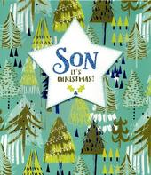 Brilliant Son Christmas Greeting Card