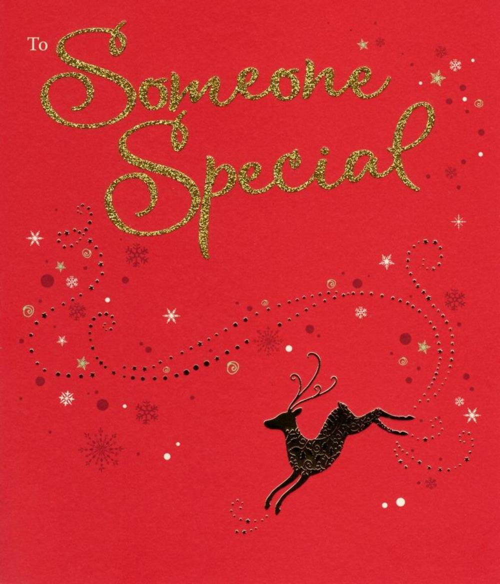 To Someone Special Christmas Greeting Card