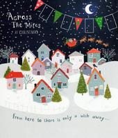Across The Miles Christmas Greeting Card