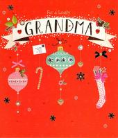 Lovely Grandma Christmas Greeting Card