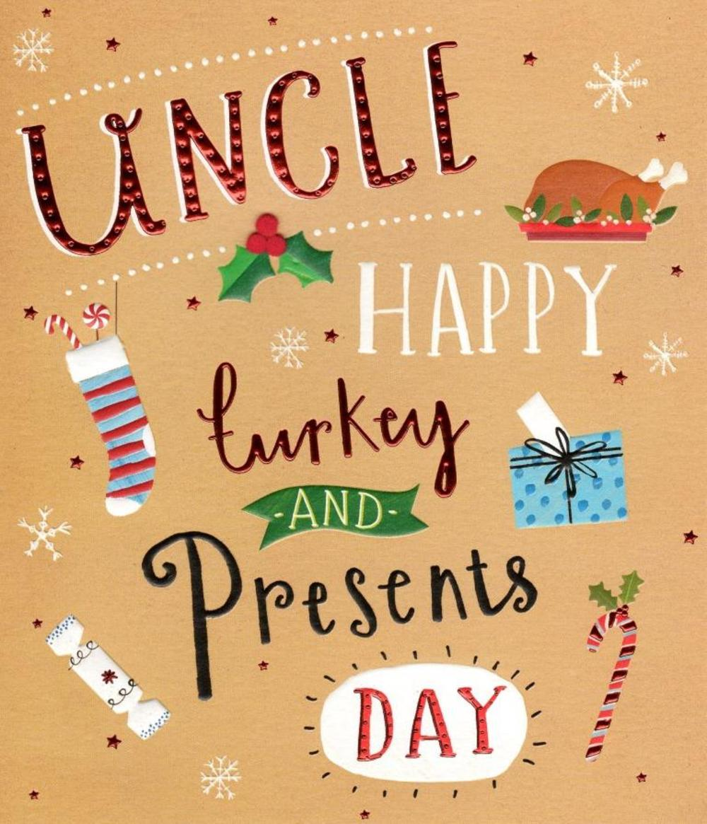 Uncle Christmas Greeting Card