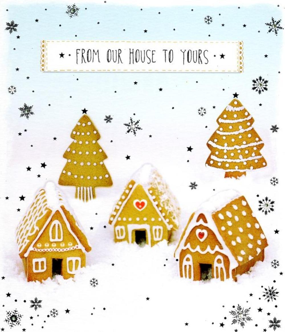 From Our House To Yours Christmas Greeting Card