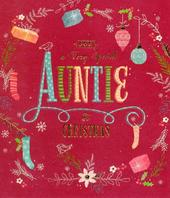 Special Auntie At Christmas Greeting Card