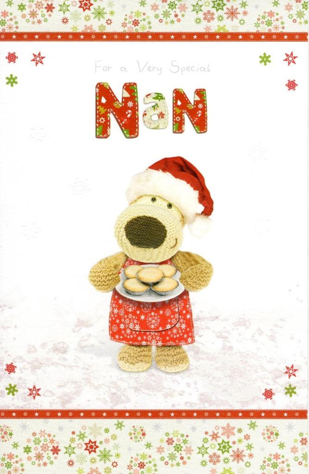 Boofle Special Nan Christmas Greeting Card