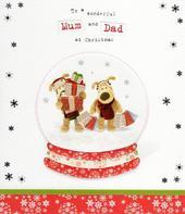 Boofle Mum & Dad Christmas Greeting Card