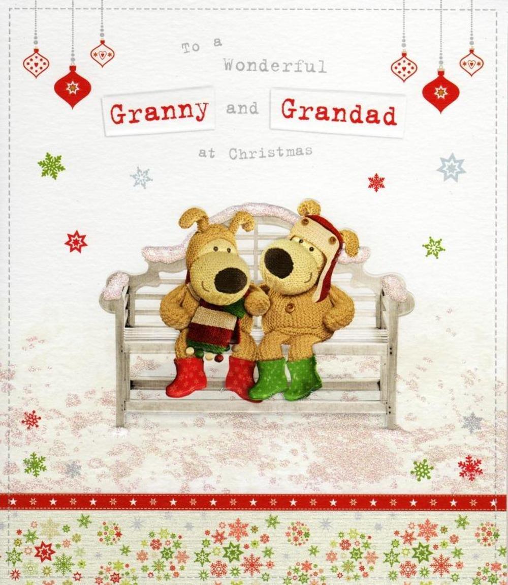 Boofle Granny & Grandad Christmas Greeting Card