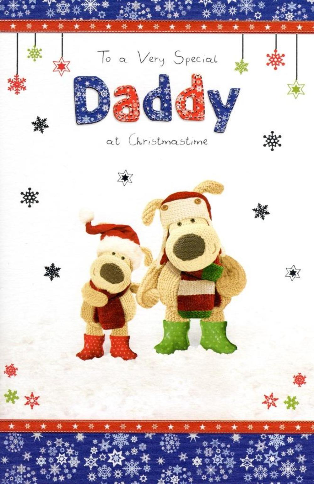 Boofle Special Daddy Christmas Greeting Card