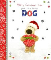 Boofle Happy Christmas From The Dog Greeting Card