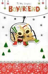 Boofle Gorgeous Boyfriend Christmas Greeting Card