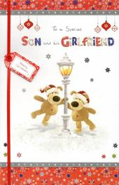 Boofle Son & His Girlfriend Christmas Greeting Card