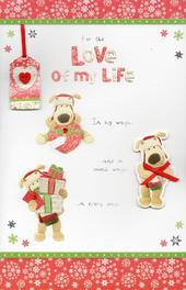 Boofle Love Of My Life Christmas Greeting Card