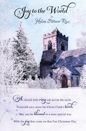 Helen Steiner Rice Religious Christmas Greeting Card
