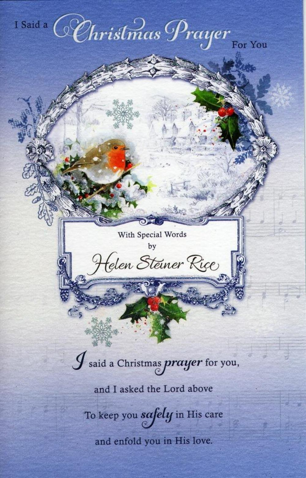 Christmas greeting card poems image collections greeting card examples helen steiner rice religious christmas greeting card cards helen steiner rice religious christmas greeting card kristyandbryce kristyandbryce Gallery