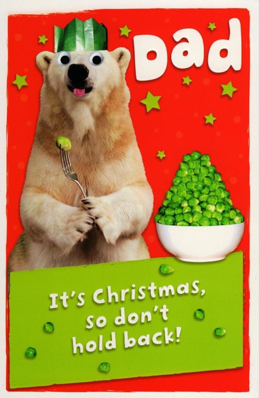 Dad Funny Christmas Greeting Card