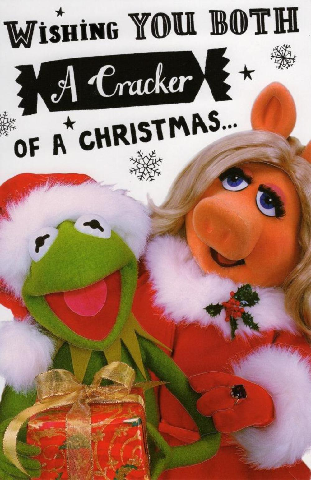 Muppets To Both Of You Christmas Greeting Card