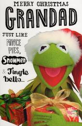 Muppets Grandad Christmas Greeting Card