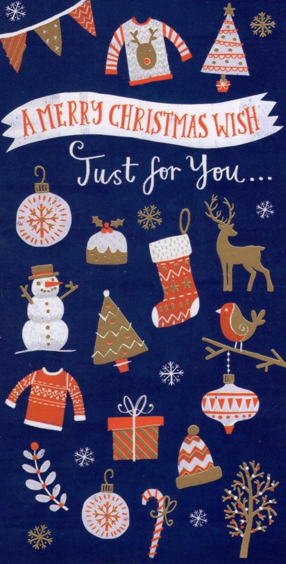 Christmas Money Wallet Gift Card Send Money Inside