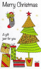 Merry Christmas Moneyholder Christmas Gift Card