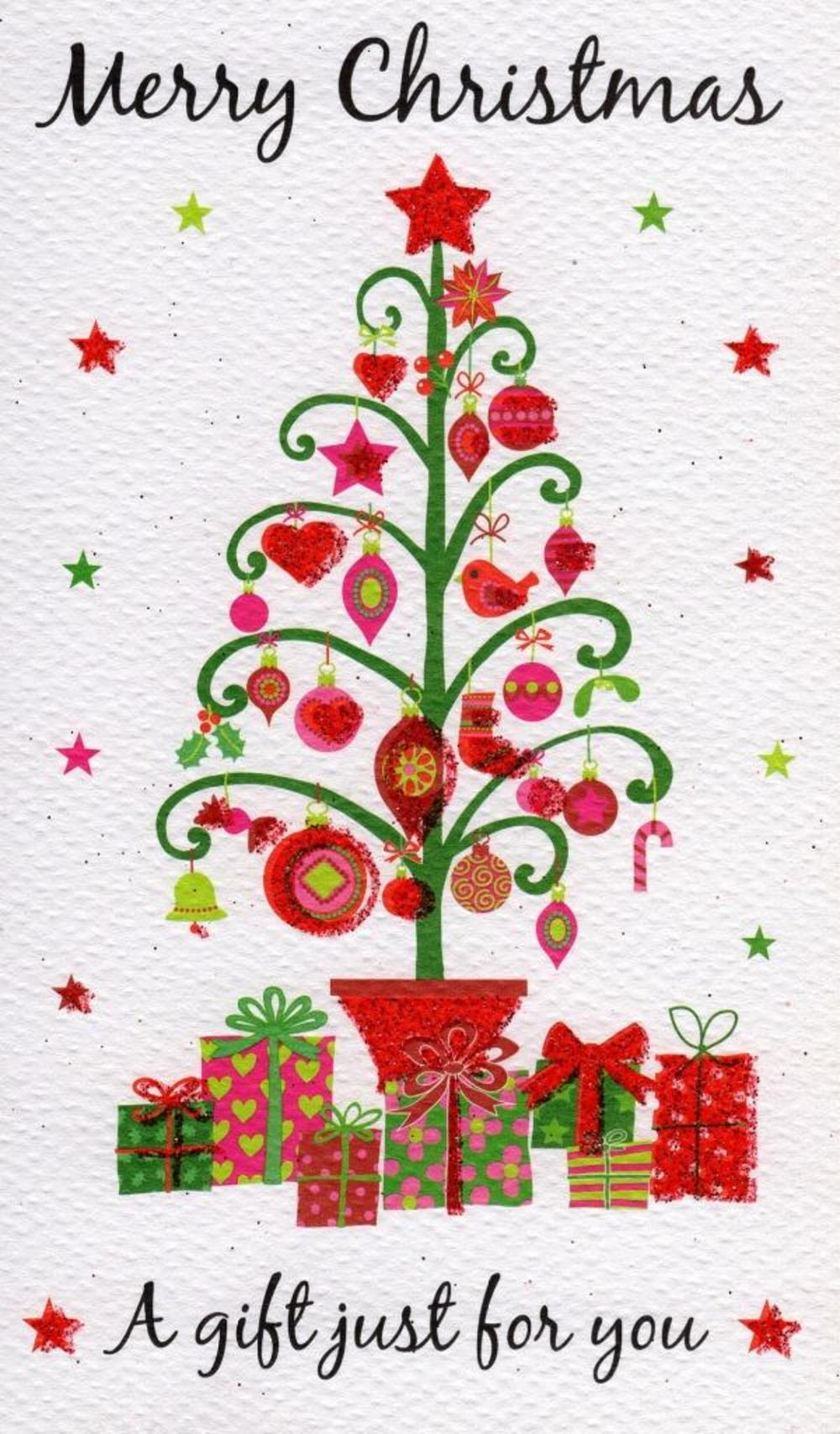 Merry Christmas Gift Moneyholder Christmas Gift Card | Cards