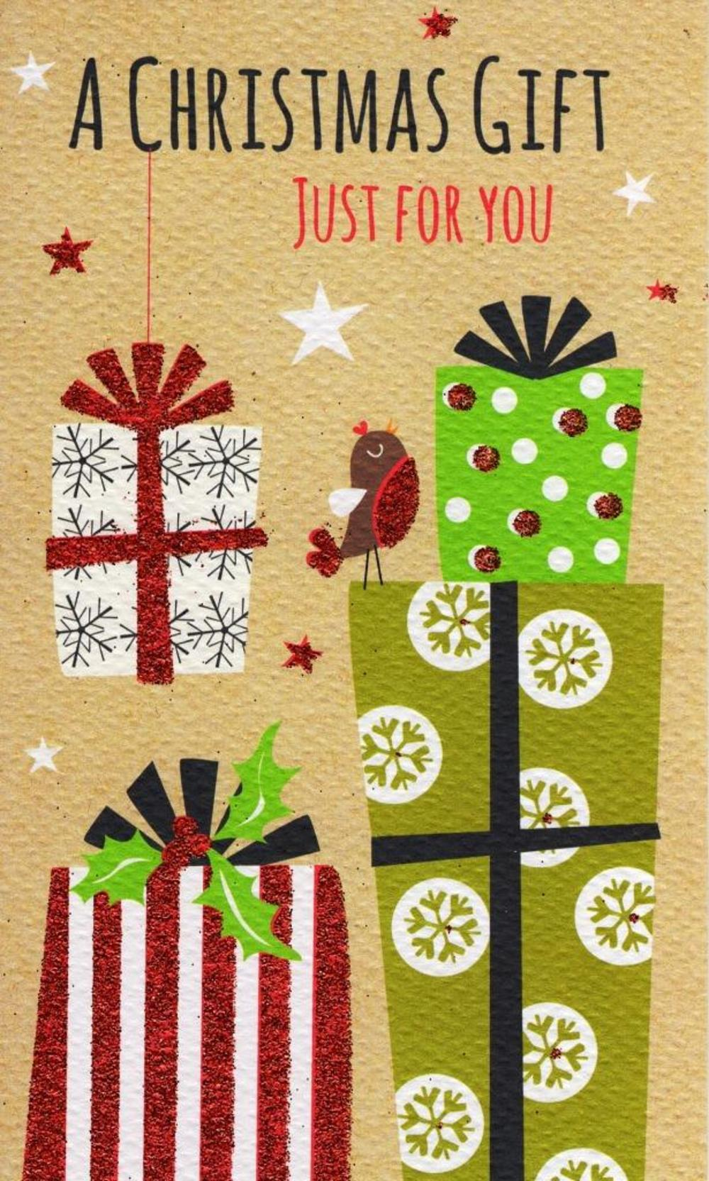 A Christmas Gift Moneyholder Christmas Gift Card