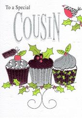 To A Special Cousin Christmas Card