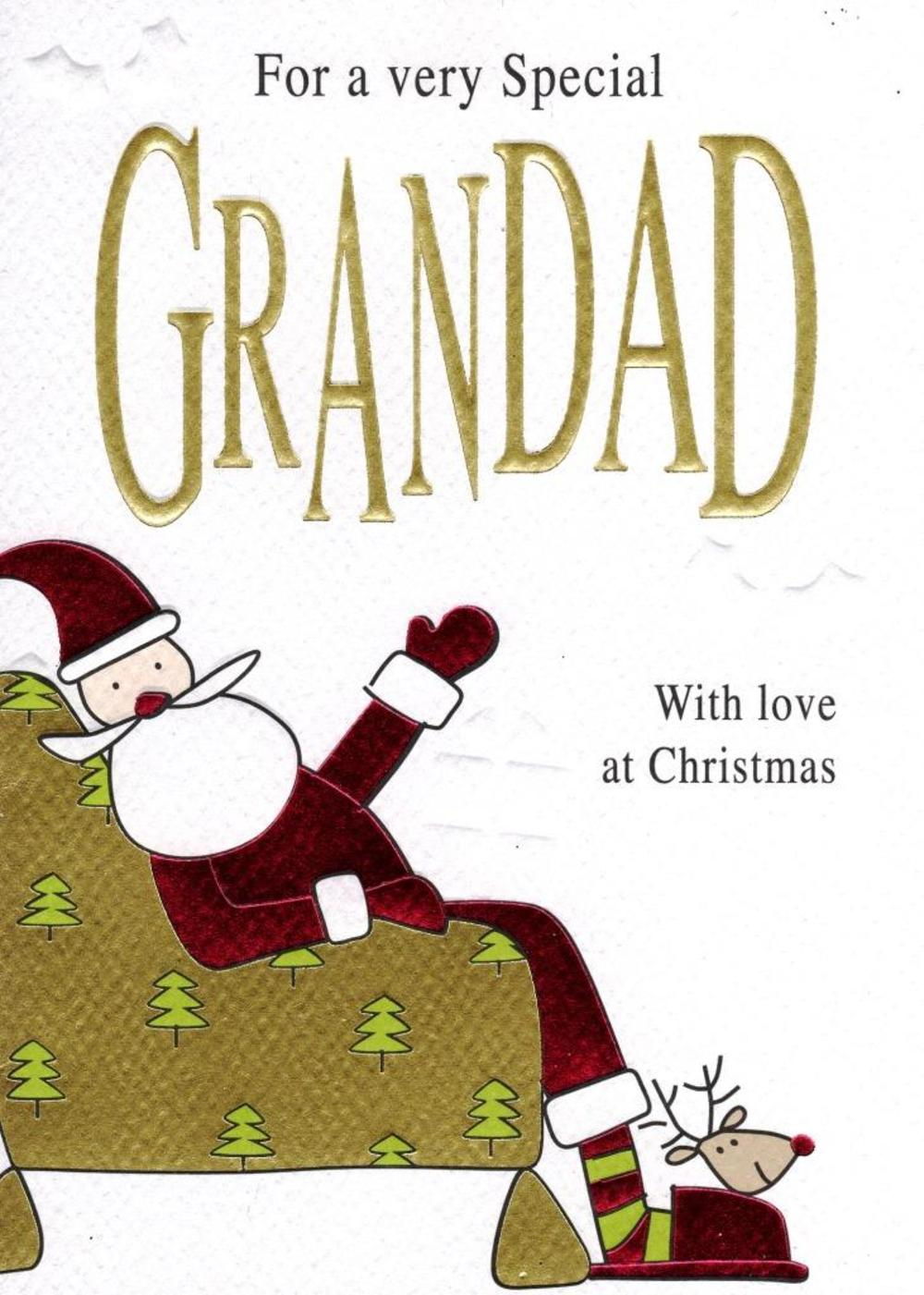To A Special Grandad Christmas Card