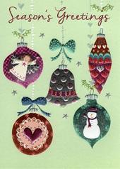 Season's Greetings Individual Xmas Card