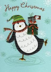 Happy Christmas Individual Xmas Card