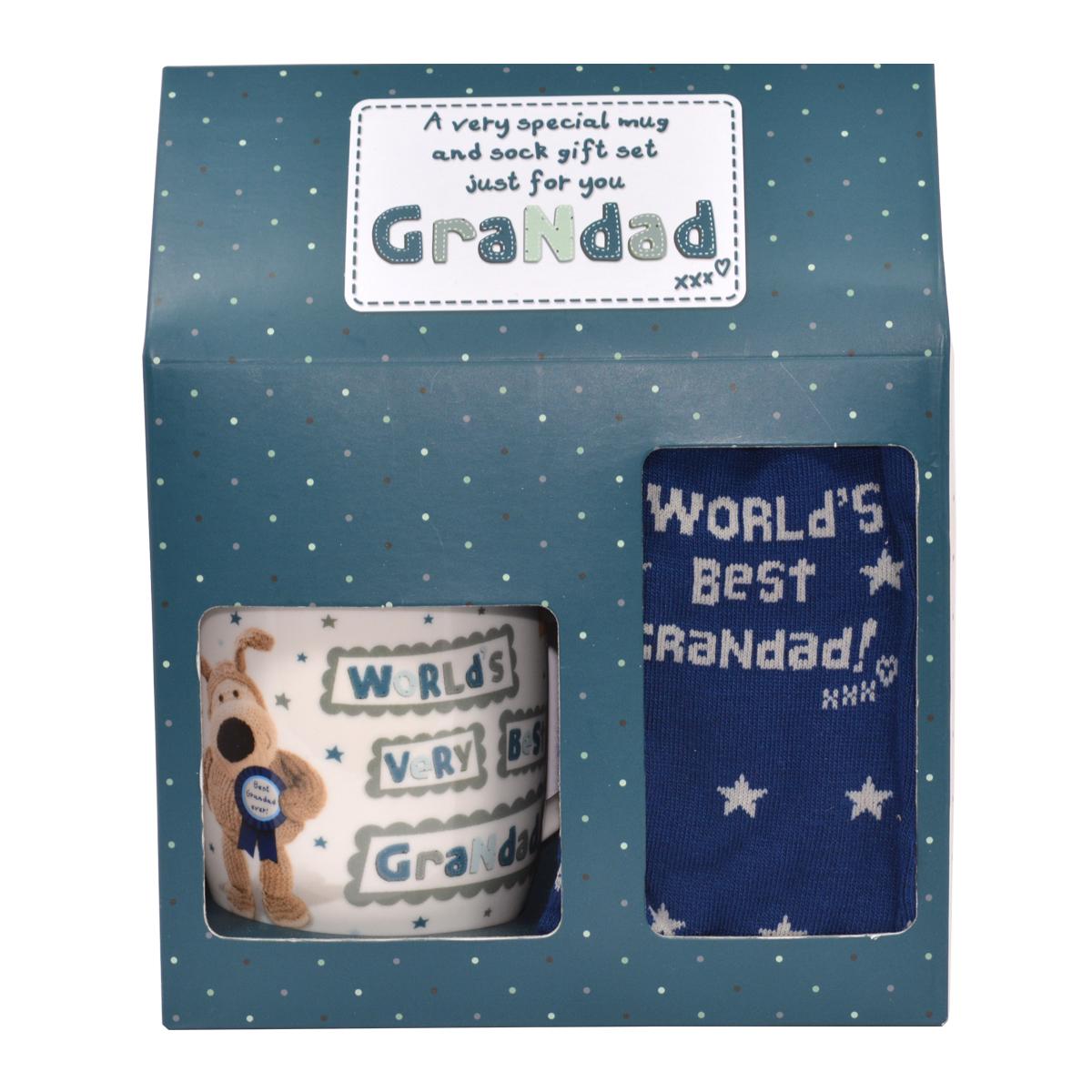 boofle grandad mug socks gift set gifts love kates
