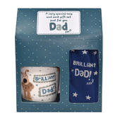 Boofle Dad Mug & Socks Gift Set