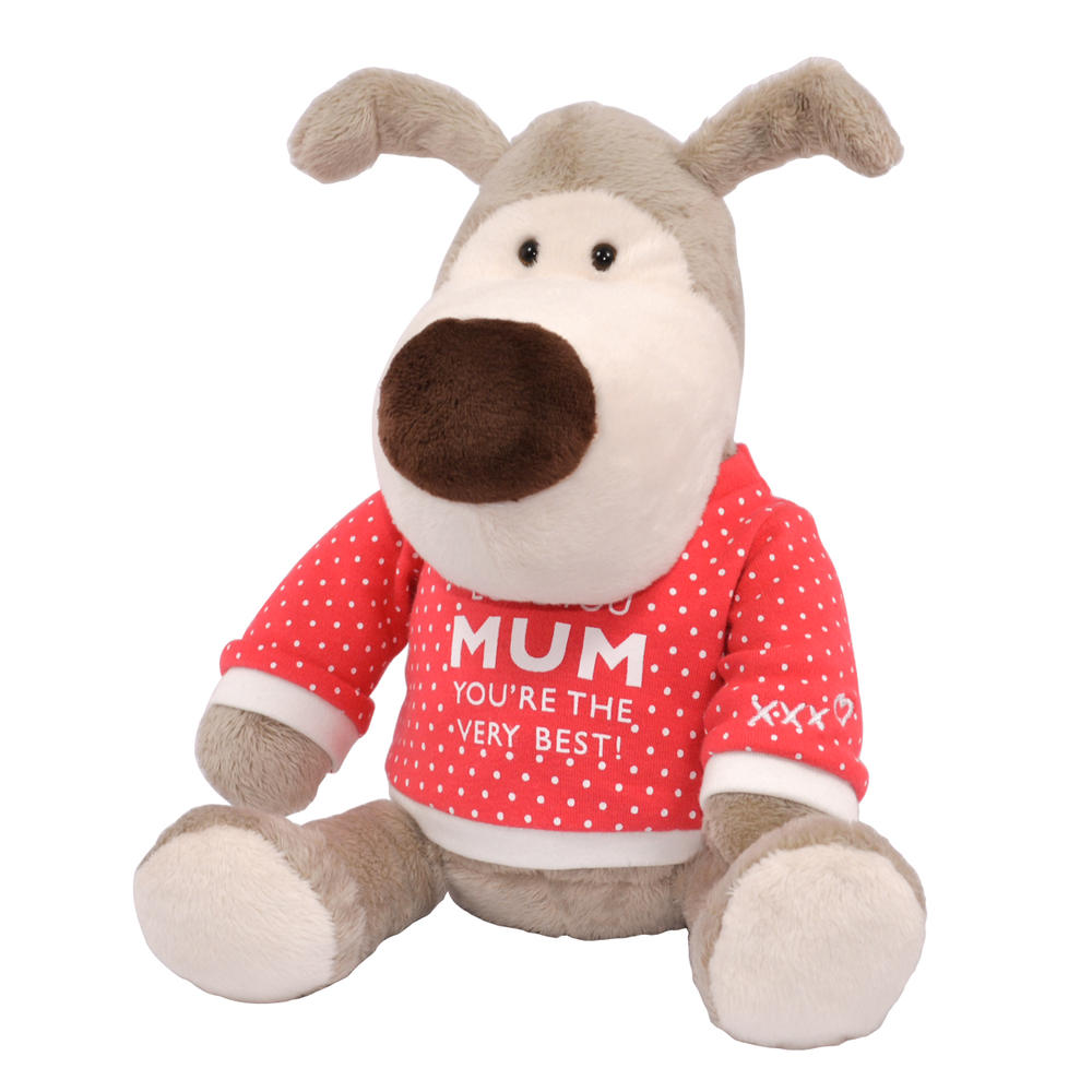 "Boofle Love You Mum Special 8"" Sitting Lamboa Plush Wearing T-Shirt Gift Idea"