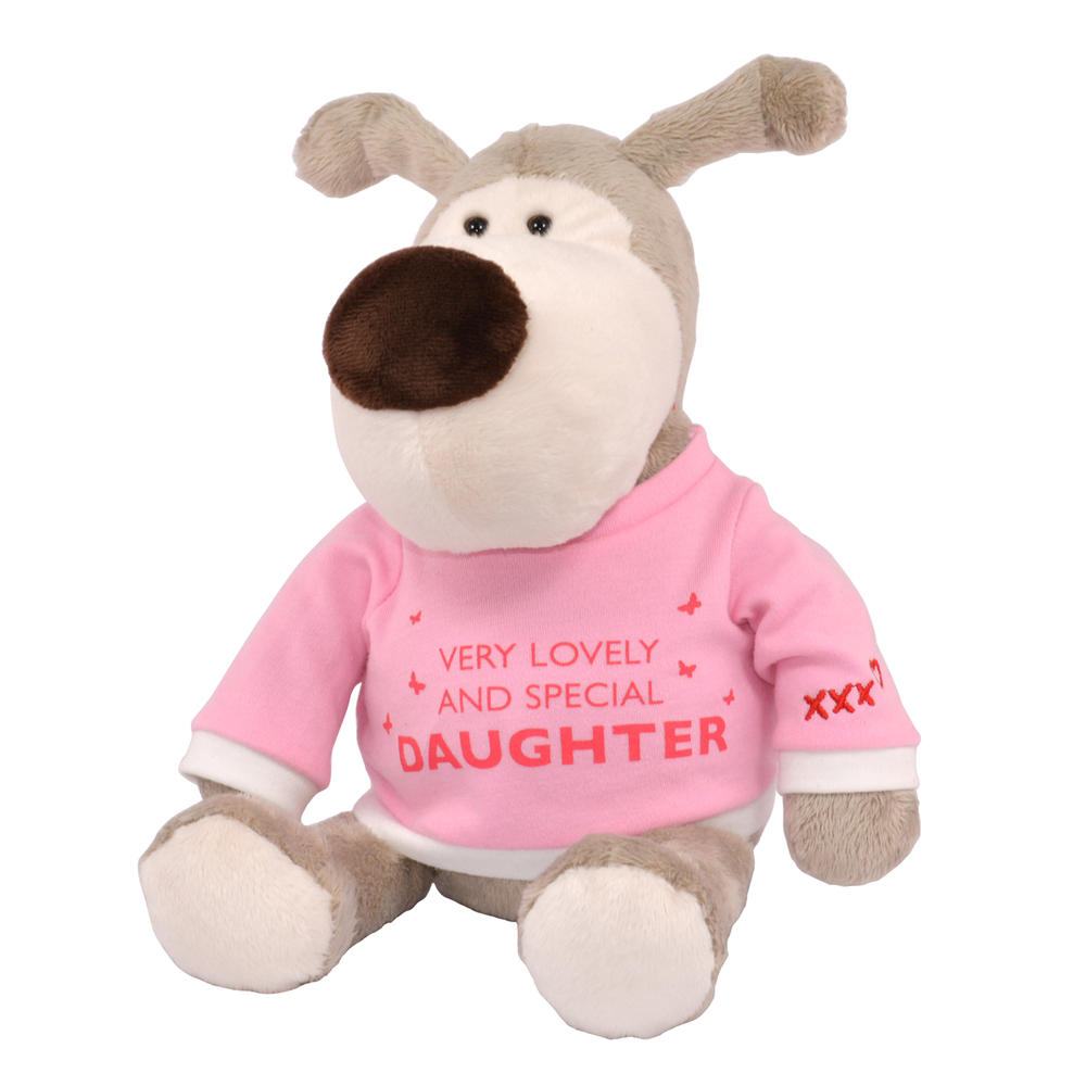 """Boofle Lovely Daughter Special 8"""" Sitting Lamboa Plush"""