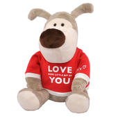 "Boofle Love Every Bit Of You Special 8"" Sitting Lamboa Plush"