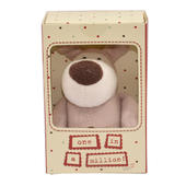 "Boofle One In A Million Mini 3"" Sitting Lamboa Plush Toy In A Box"