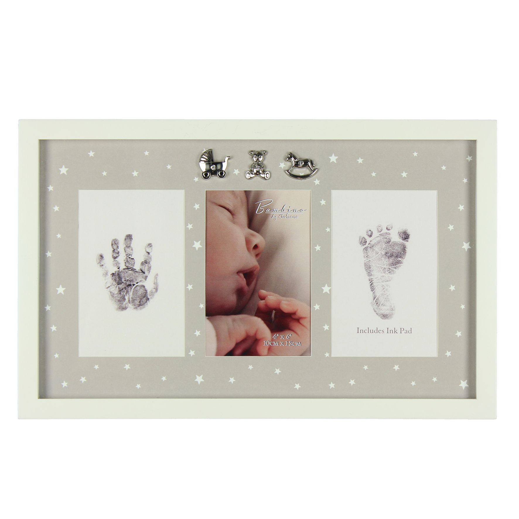 Bambino Baby Hand & Foot Print Photo Frame Kit With Ink Pad | Gifts ...