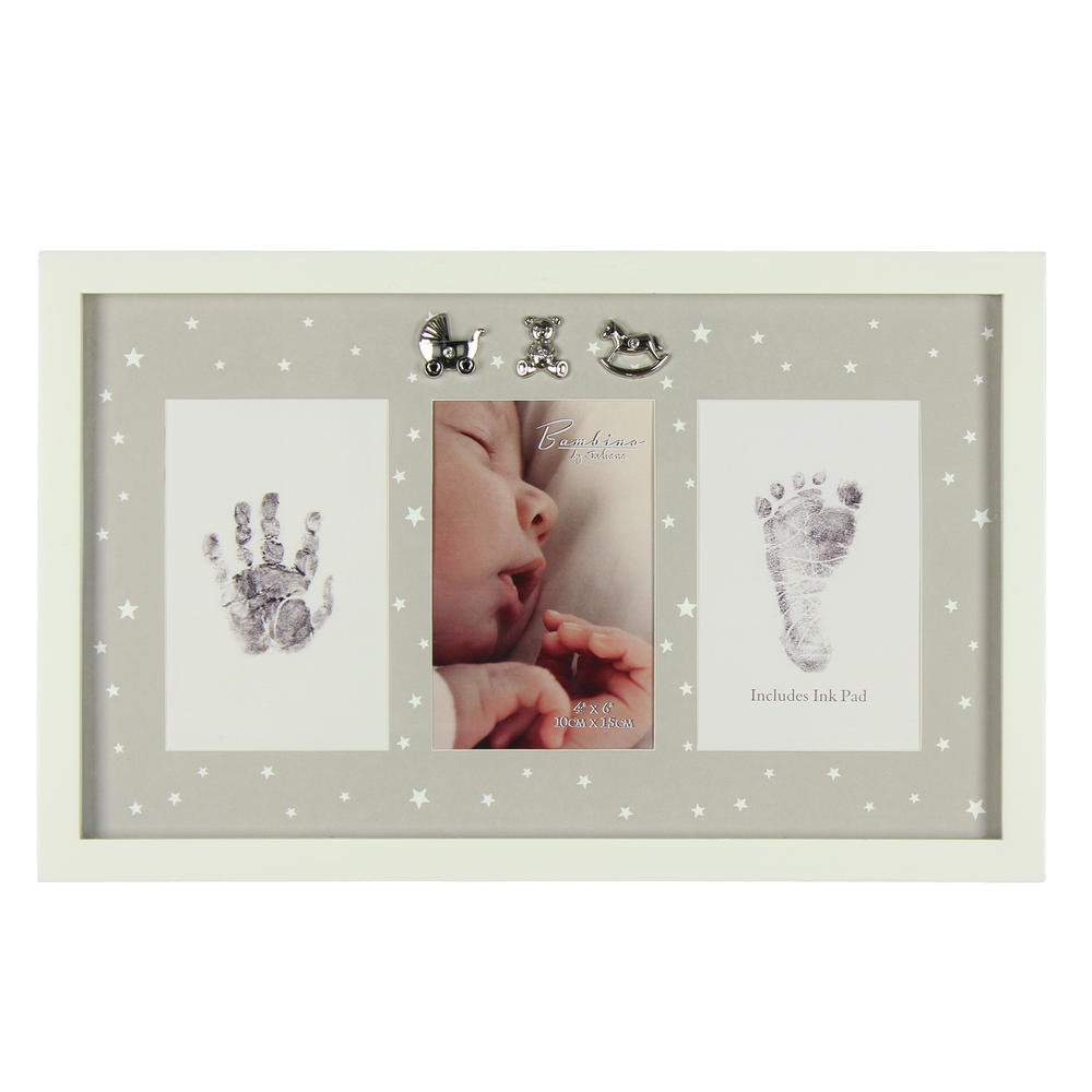 Bambino Baby Hand & Foot Print Photo Frame Kit With Ink Pad | Gifts