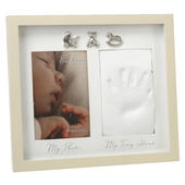 Bambino Baby Clay Hand Print Photo Frame Casting Kit
