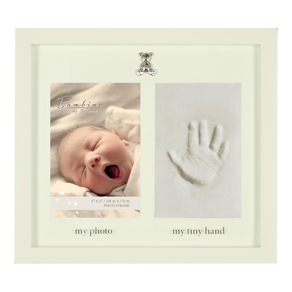 Bambino Baby Clay Hand Print Photo Frame Casting Kit