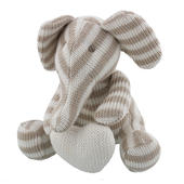 Bambino Cotton Knitted Stripe Small Elephant