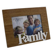 "Family 6"" x 4"" Freestanding Photo Frame"