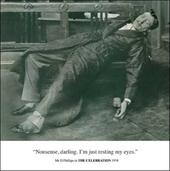 Resting My Eyes Funny Birthday Greeting Card