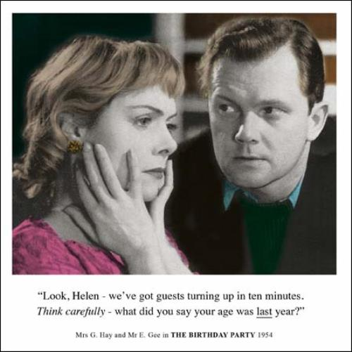 Details About Think Carefully Helen Funny Birthday Greeting Card Retro Humour Drama Queen