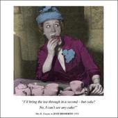 Tea & Cake Funny Birthday Greeting Card
