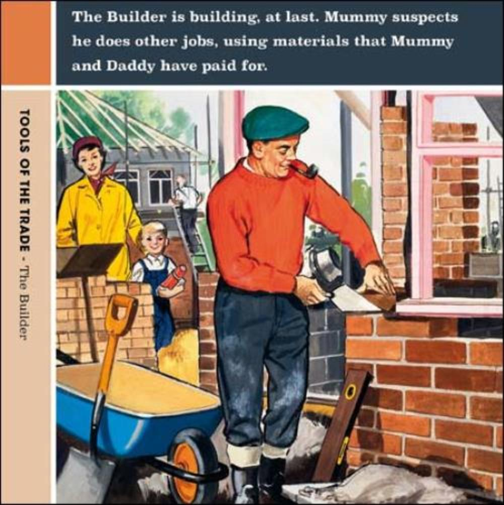 The Builder Funny Tools Of The Trade Greeting Card
