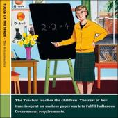 The Teacher Funny Tools Of The Trade Greeting Card